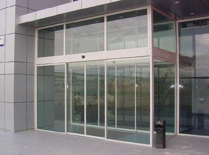 puerta automatica peatonal