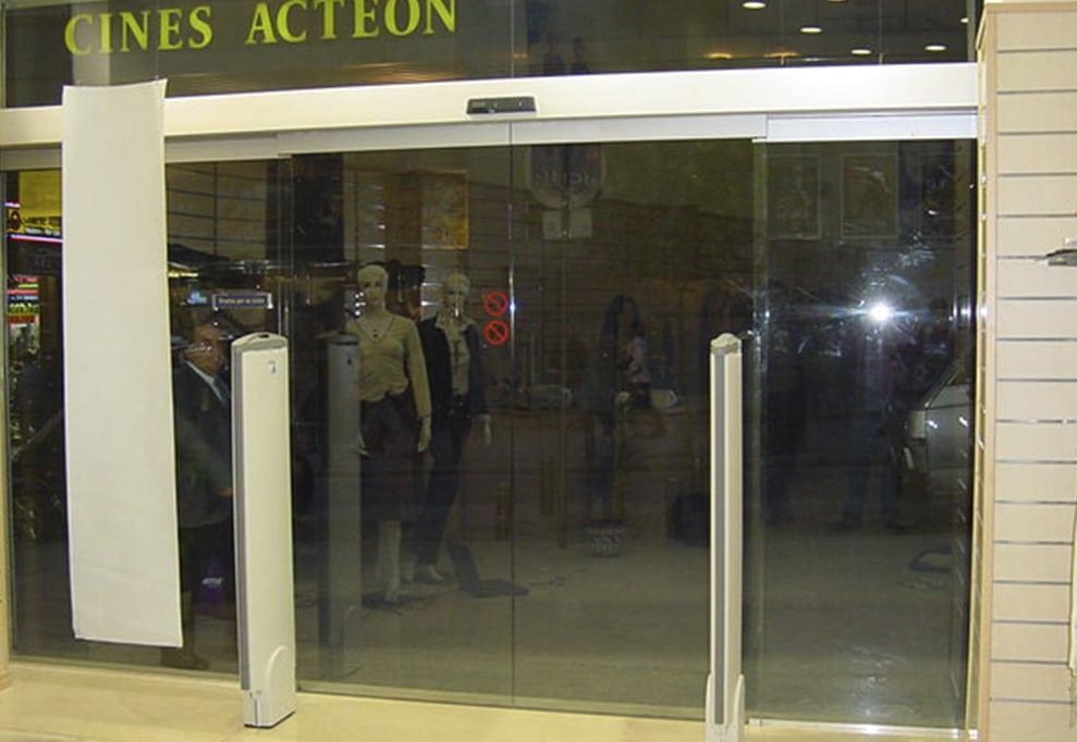 puertas automaticas cristal