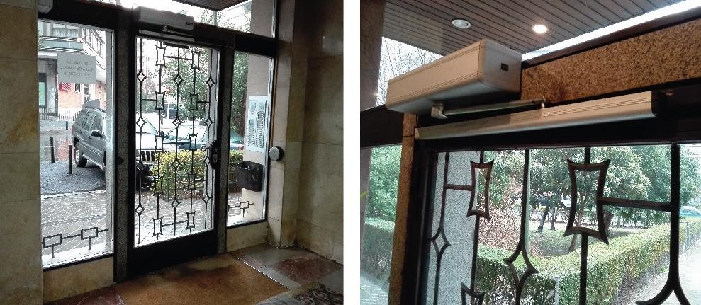 puerta automatica portal