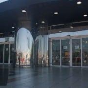puerta automatica cristal comercio