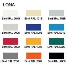 colores lona puerta