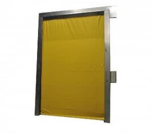 puerta rapida temperatura controlada