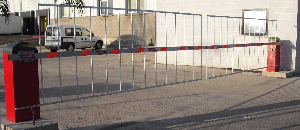 barrera antipedestrian