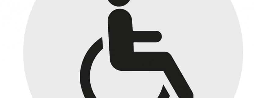 icono accesibilidad puertas