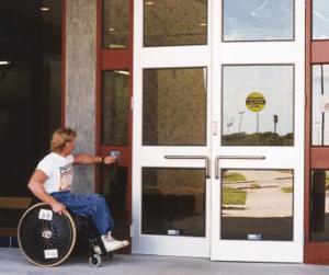 accesibilidad puerta portal