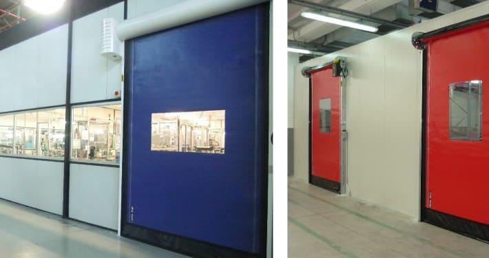 puerta rapida industrial