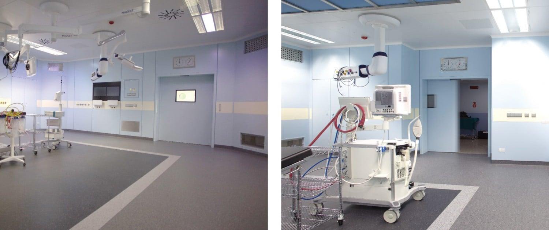 puertas para hospital