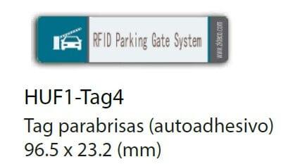 huf tag parabrisas adhesivo aprimatic