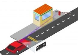 Lector de proximidad RFID de largo alcance