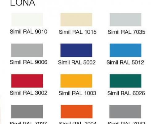 colores alu standard aprimatic