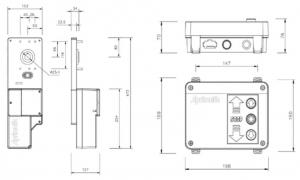 dimensiones sidematic box aprimatic