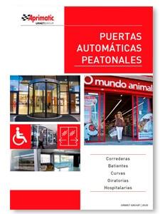 catalogo puertas automaticas peatonales aprimatic