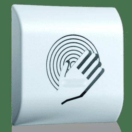 magic switch aprimatic pulsador abrepuertas contactless