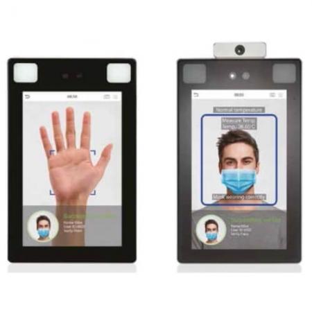 verificador biometrico proface x aprimatic sin contacto coronavirus