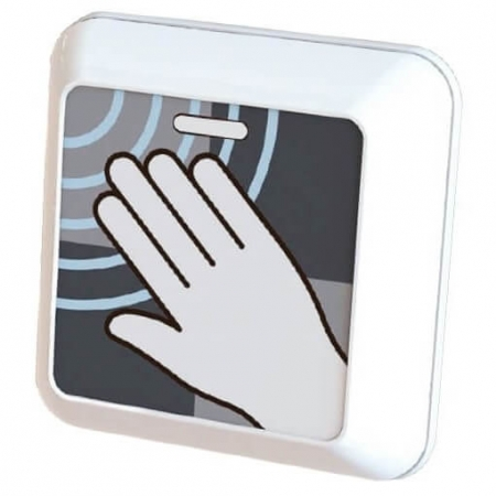 clearwave pulsador sin contacto abrepuertas