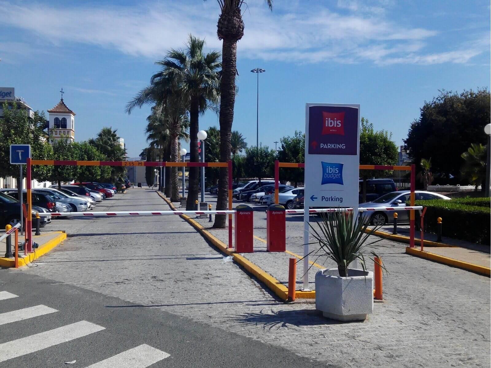 barrera automatica vehicular aprimatic