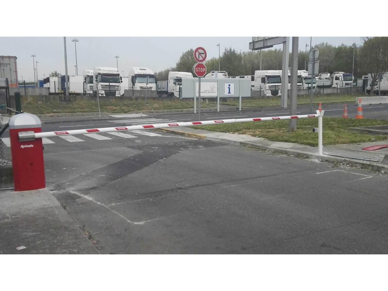 barrera parking aeropuerto charles degaul
