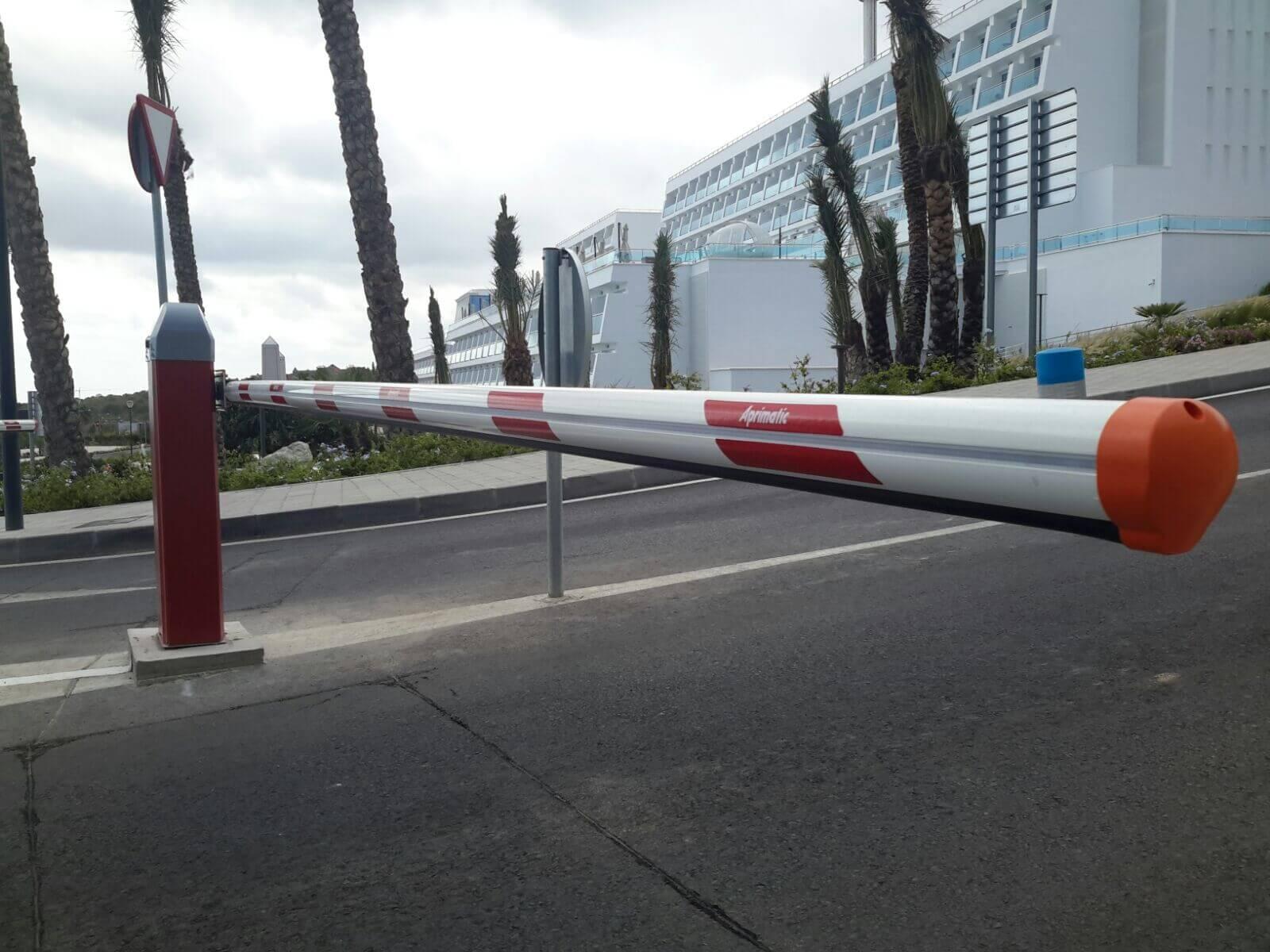 brazo de barrera de vehiculos