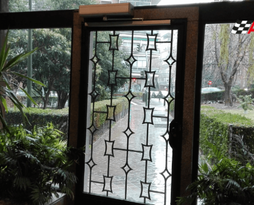 automatizar puerta de portal anticontagio