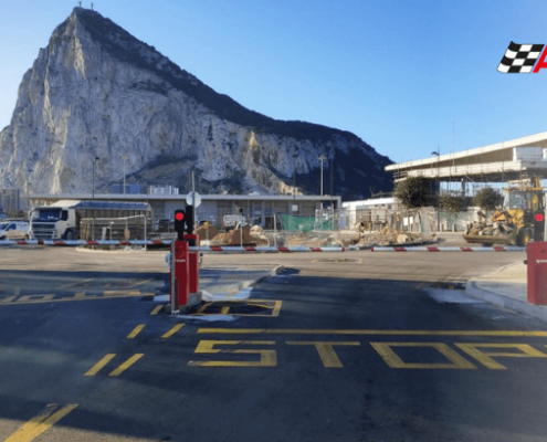 instalacion barrera parking automatica gibraltar