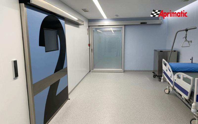 instalacion puertas hospitalarias
