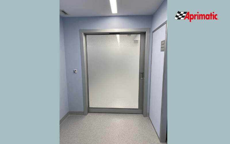 puertas automaticas de hospital