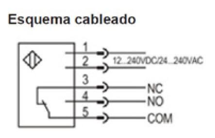 esquema cableado fotocelula e16p aprimatic