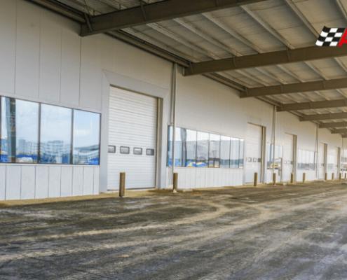 Puertas rapidas o puertas de lona para almacenes y naves industriales