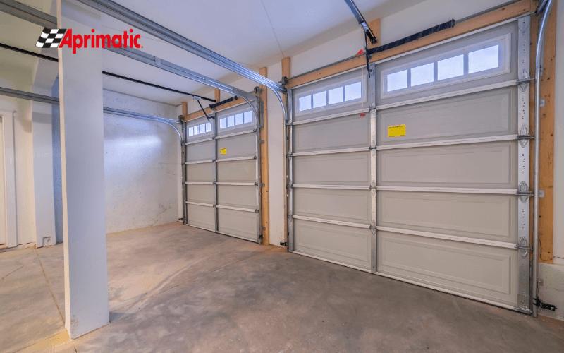 Seguridad puerta garaje